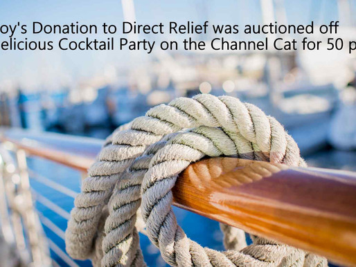 Pure Joy Donation to Direct Relief