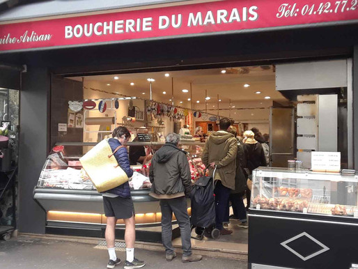 The Art of the Parisian Butcher's Customer Service