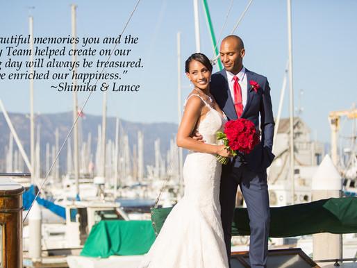 Shimika & Lance Thank You Thursday!