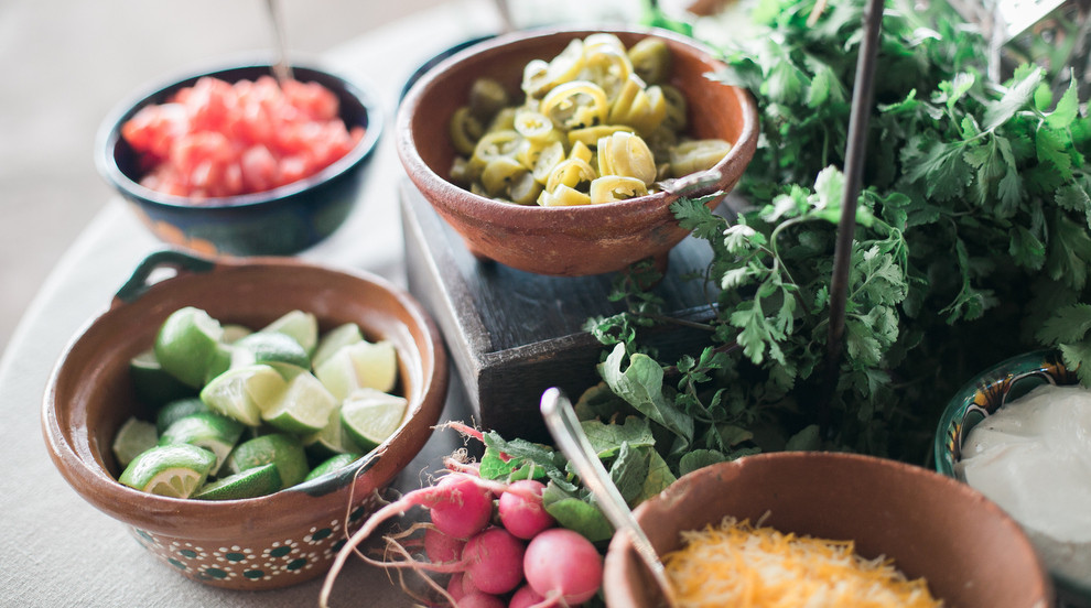 Beautiful and fresh food