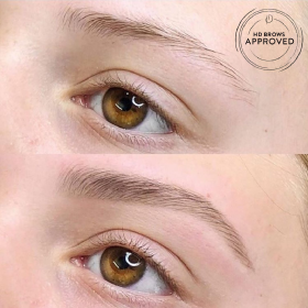 HD brows Before/After