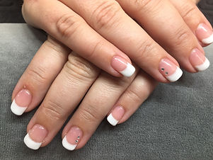 French Gel Polish Nails