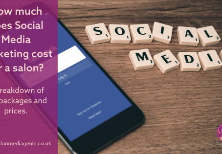 How much does Social Media Marketing for a salon cost? A breakdown of the packages and prices.