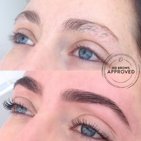 Hdbrows before/after