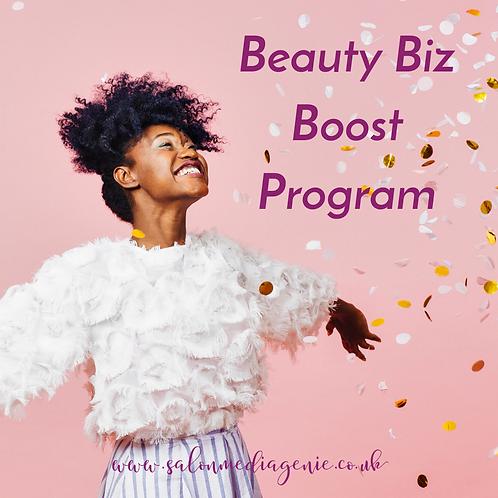 Beauty Biz Boost Online course for better marketing