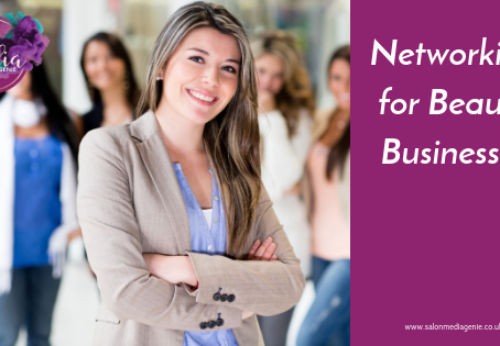 Networking meetings for your Beauty Business.