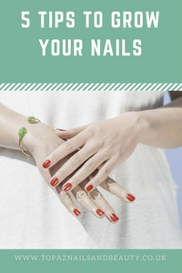 5 Tips to growing your nails longer and stronger