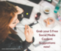 5 Free Social Media Content Ideas