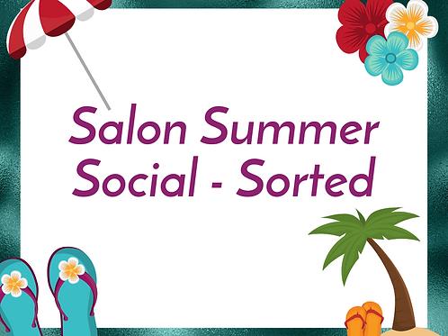 Salon Summer Social - Sorted