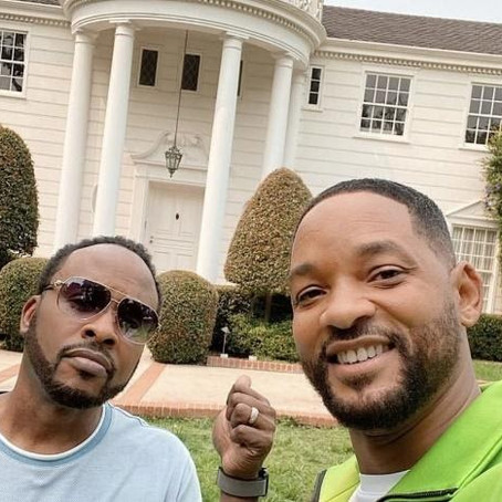 "Will Smith and DJ Jazzy Jeff give fans a virtual tour of the ""Fresh Prince"" mansion"