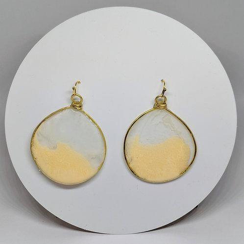 Cornflower Acrylic Earrings