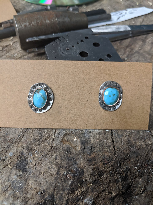 Turquoise Artisan Studs
