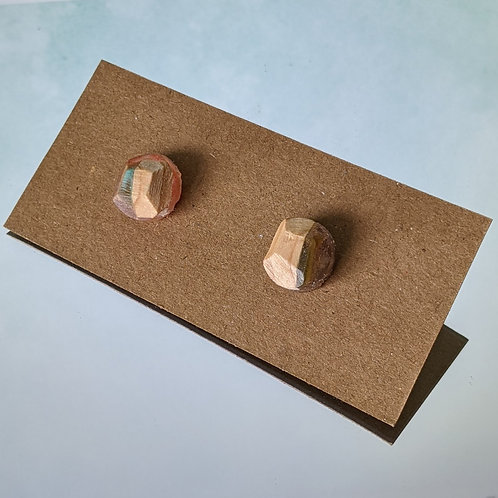 Small Acrylic and Wood Studs