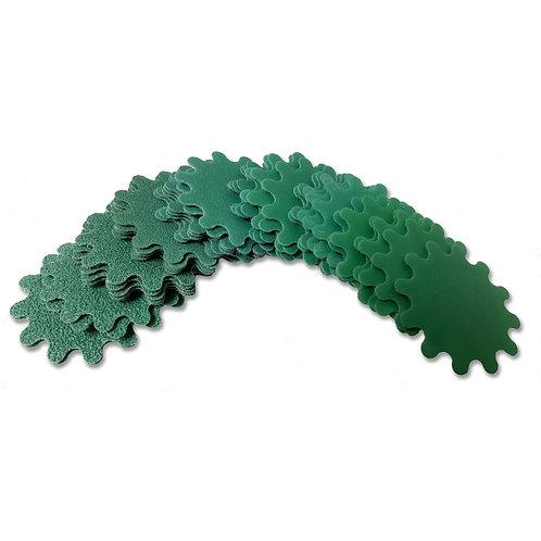 WoodTurners Wonders Green Wave 8 grits 40 pack