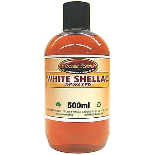 UBeaut WHITE SHELLAC 500ml