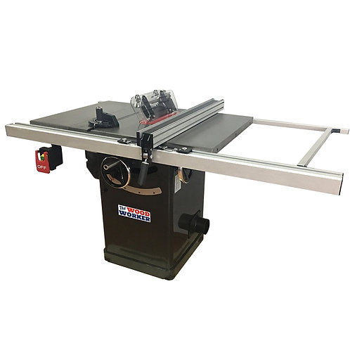 """WOODWORKER 254mm 10"""" 2hp Cabinet Table Saw"""