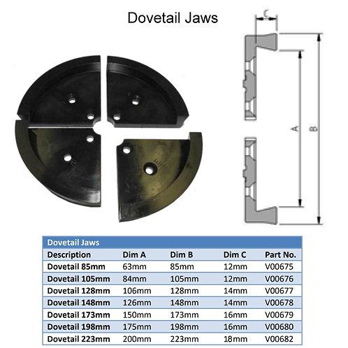 VICMARC VM120/150 Dovetail Jaws