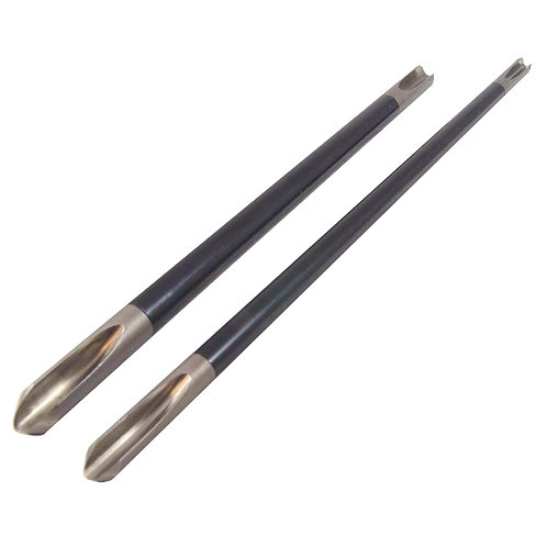 Woodcut Double Ended Bowl Gouge Shaft
