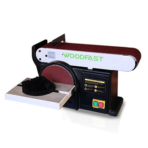 "WOODFAST BD150A 6"" x 4"" Belt & Disc Sander"
