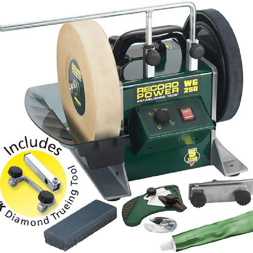 """RECORD POWER 10"""" Wet Stone Sharpening System"""
