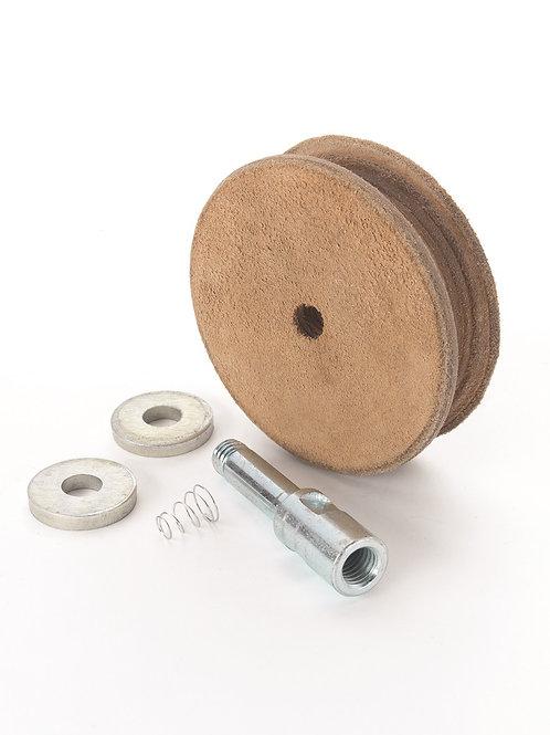 RECORD POWER Wet Stone Profiled Leather Honing Wheel