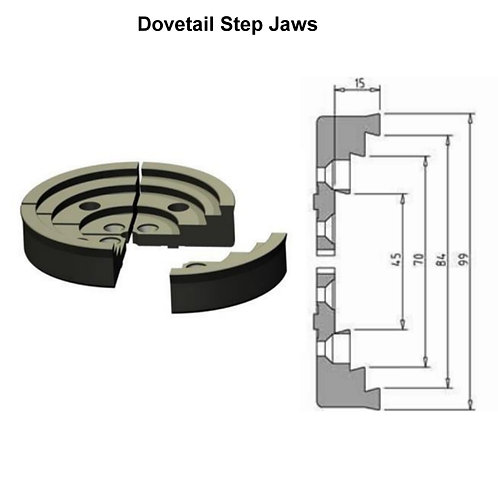 VICMARC VM100 Step Jaws