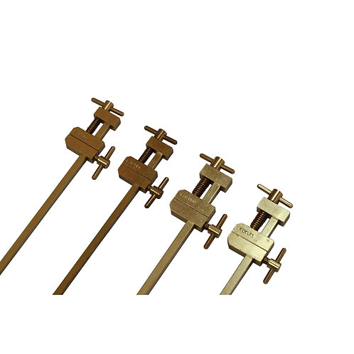 JAPANESE TOOLS Hatagane Solid Brass Clamps