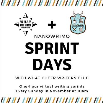 NaNoWriMo Sprint Days