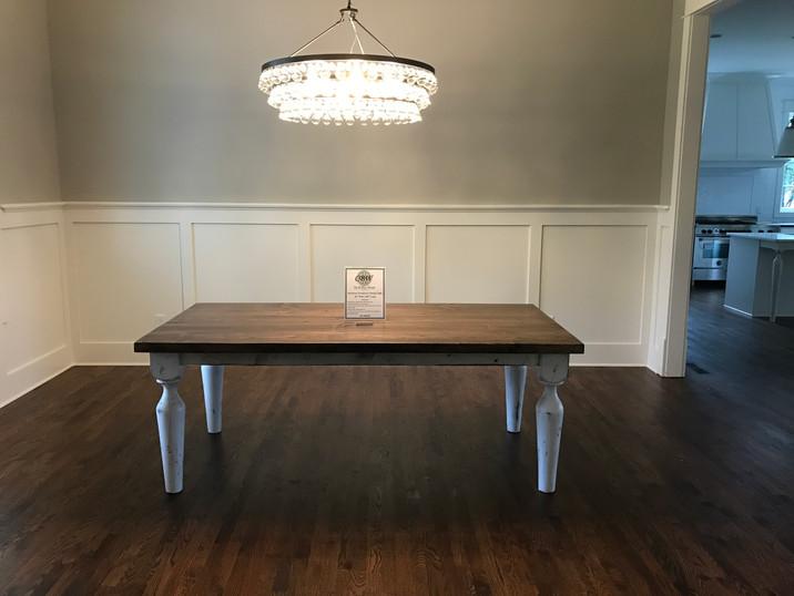 Distressed Farmhouse Table