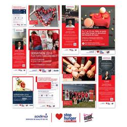 Campagne Servathon Sodexo 2016 & 201