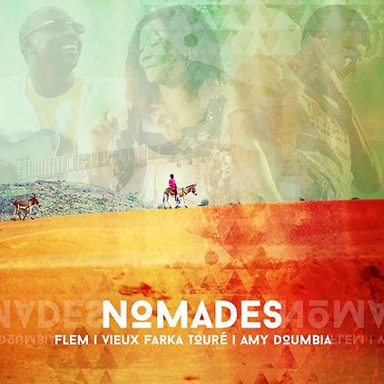 Album Nomades Flem, Vieux Farka Touré, Amy Doumbia