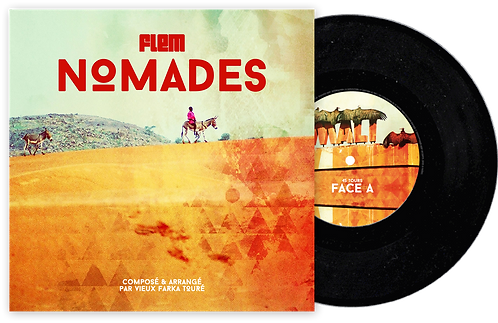 Album Nomades Vinyle 45 Tours