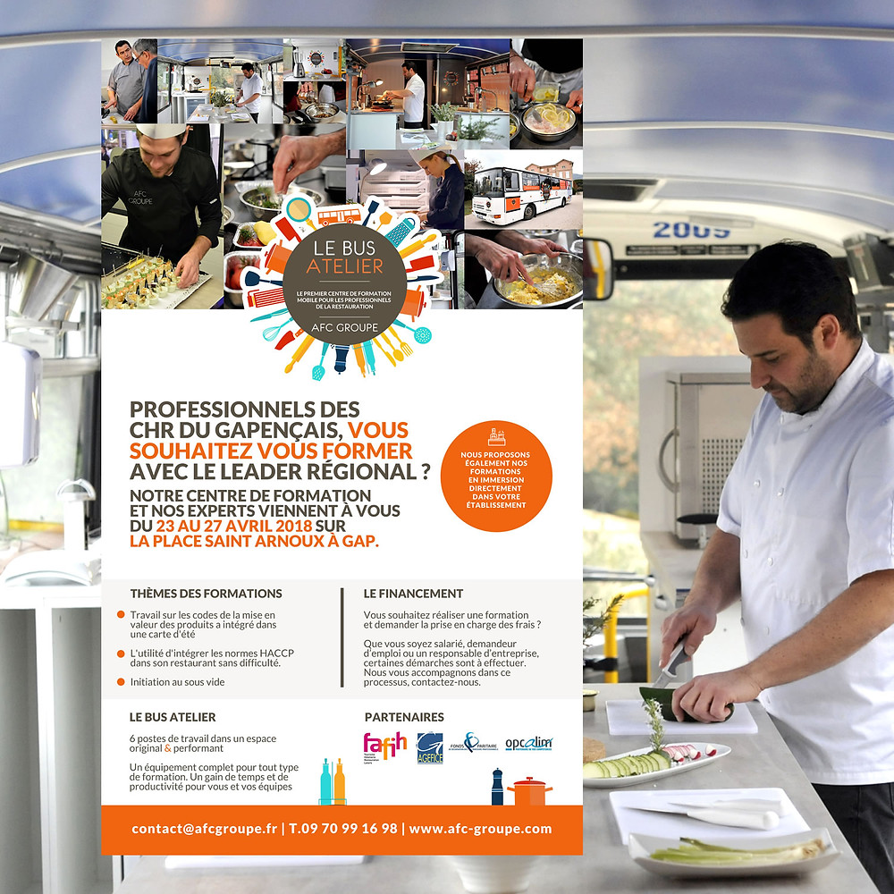 Afc Groupe, Bus Atelier, Aubagne