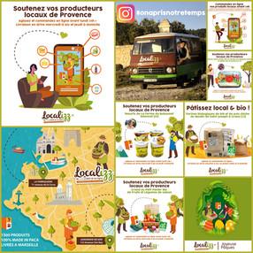 Communication réseaux sociaux | Localizz