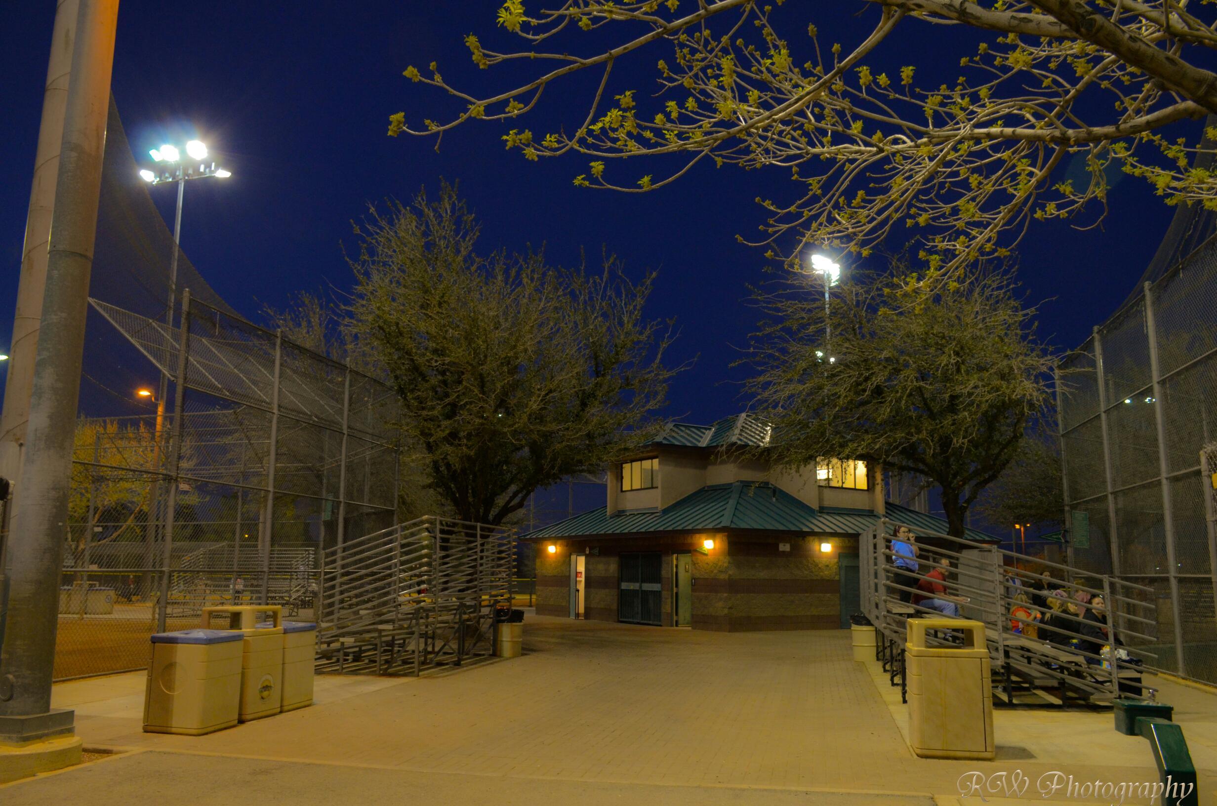 Night Photography Arroyo Grande Sport Complex