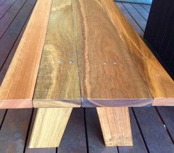 Mixed Hardwood Bench