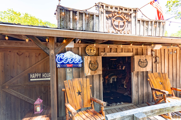 Happy Hour at the Saloon