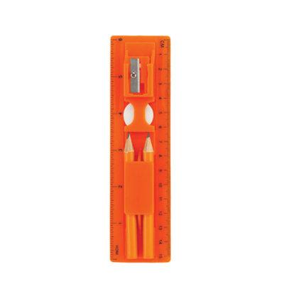 Mini Ruler Set con Lápices