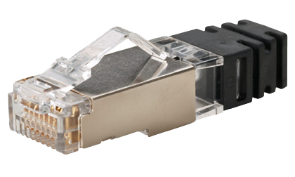 <SPS6X88-C> CONECTOR RJ45 CAT. 6A BLINDADO - PANDUIT