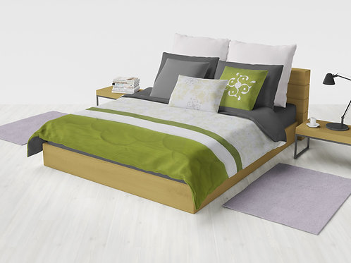 Cobertor Microcuero Verde