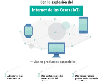 Con la explosión del internet de las cosas (IoT)