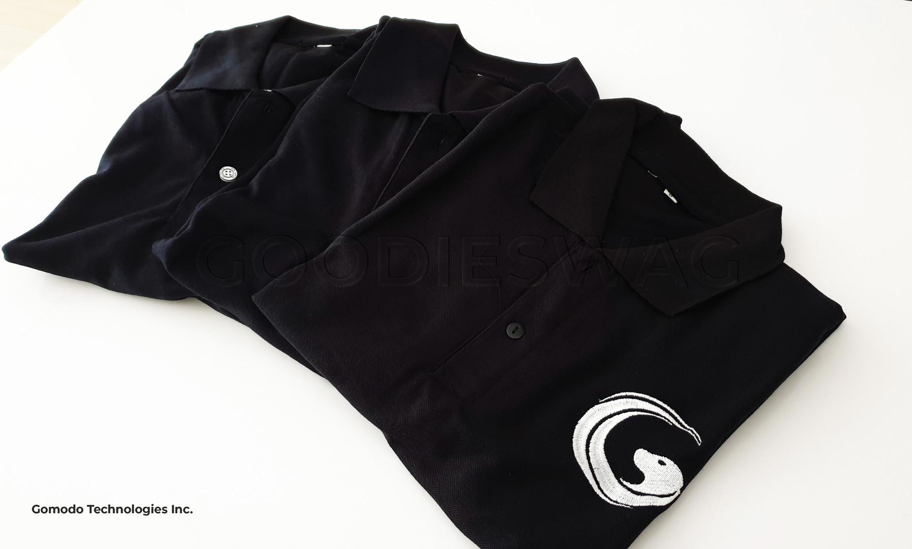 Gomodo Technologies Custom Poloshirt Jakarta Indonesia Souvenir Promosi