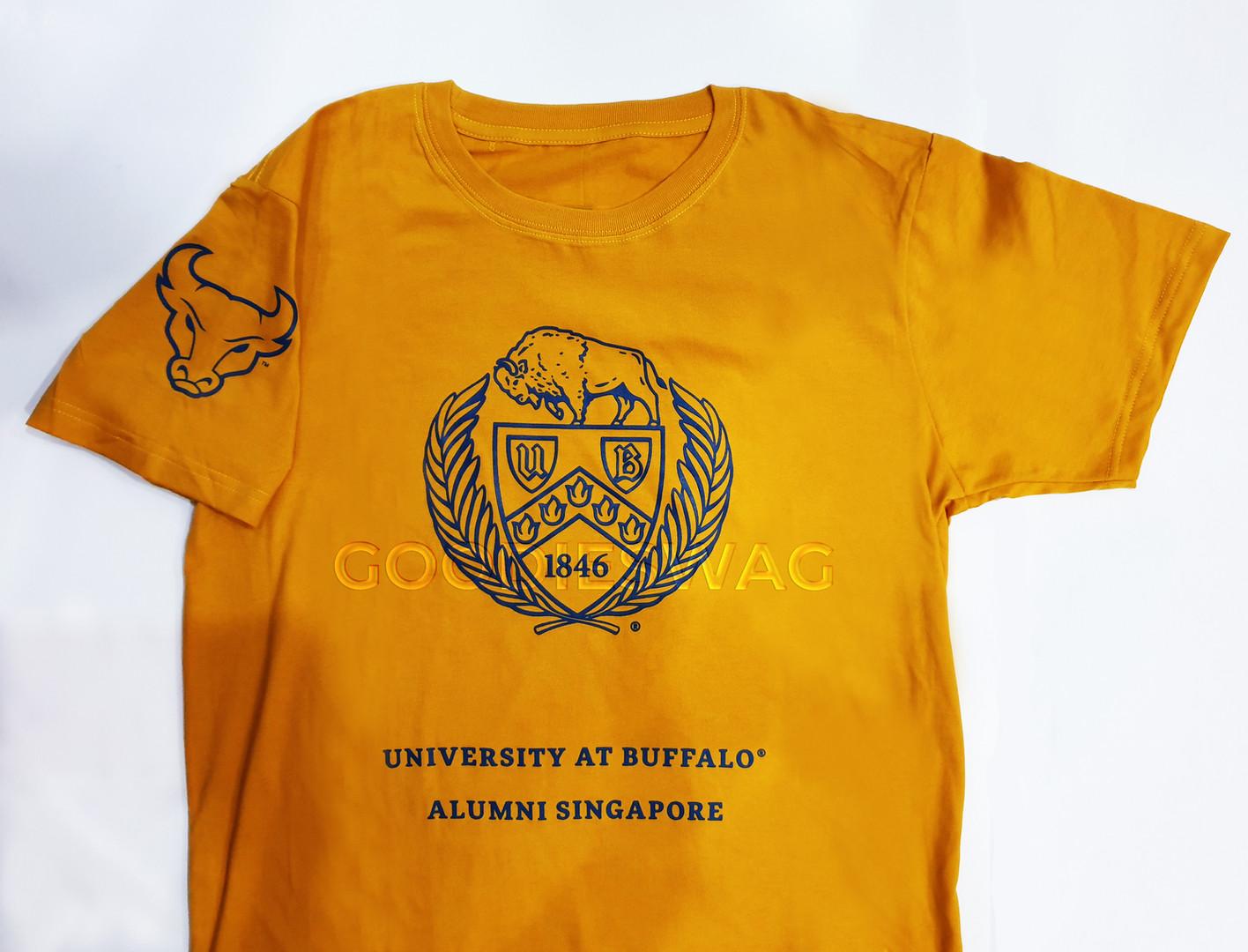 University at Buffalo Alumni Singapore Custom Tshirt Singapore