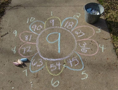 math-facts-garden-sidewalk-chalk-math-ar