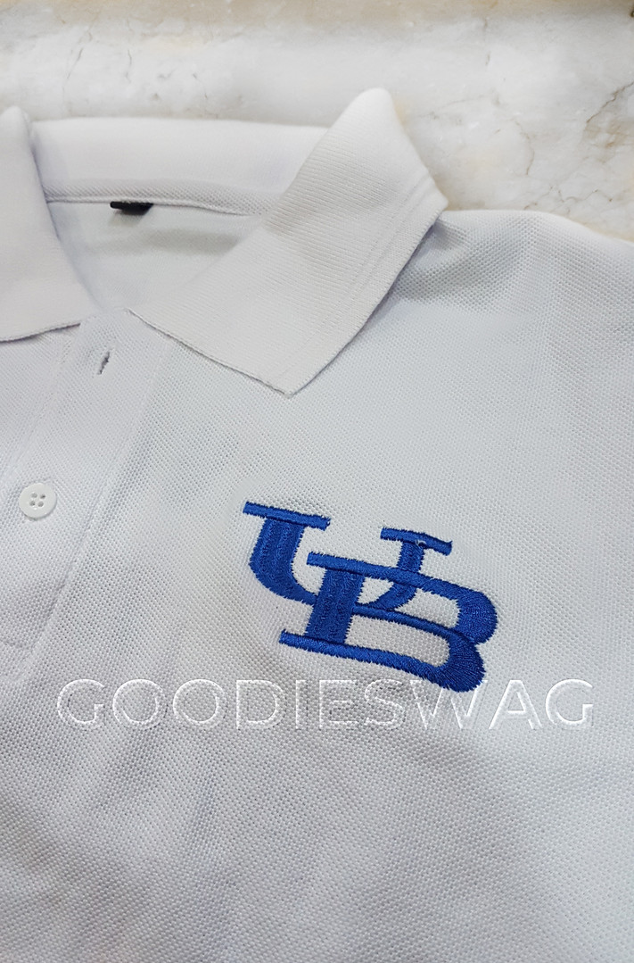 Custom Poloshirt University of Buffalo Singapore Embroidery