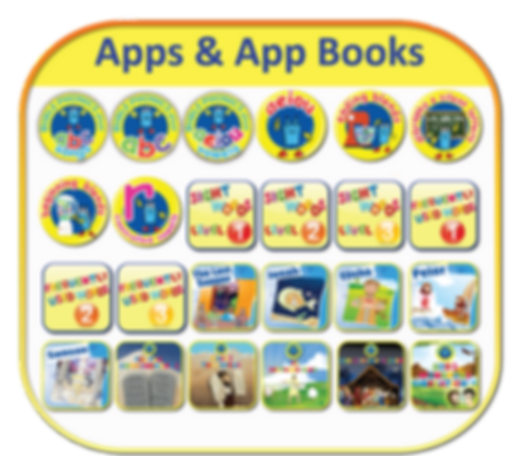 Bible Phonics Plus Apps and App-Books