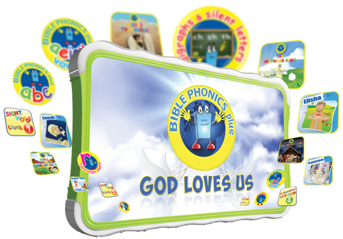 Bible Phonics Plus Tablet Only System