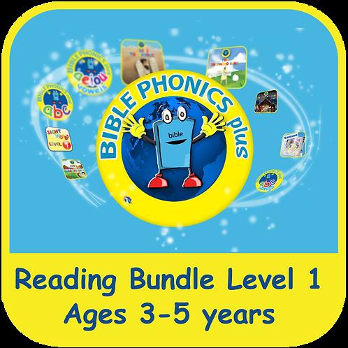 Bible Phonics Plus Level 1 App