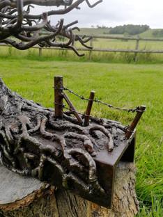John Farr Oak Stile Detail