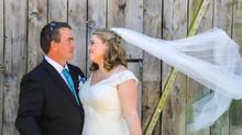 Chris, Shinade and a farm-style wedding!